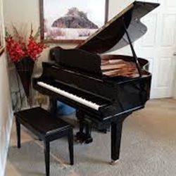 Reconditioned Baby Grand Piano with 5-year warranty