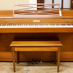 Reconditioned Baldwin Spinet Piano in American Walnut