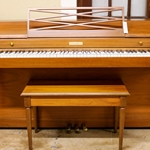 Reconditioned Baldwin Spinet Piano in Walnut